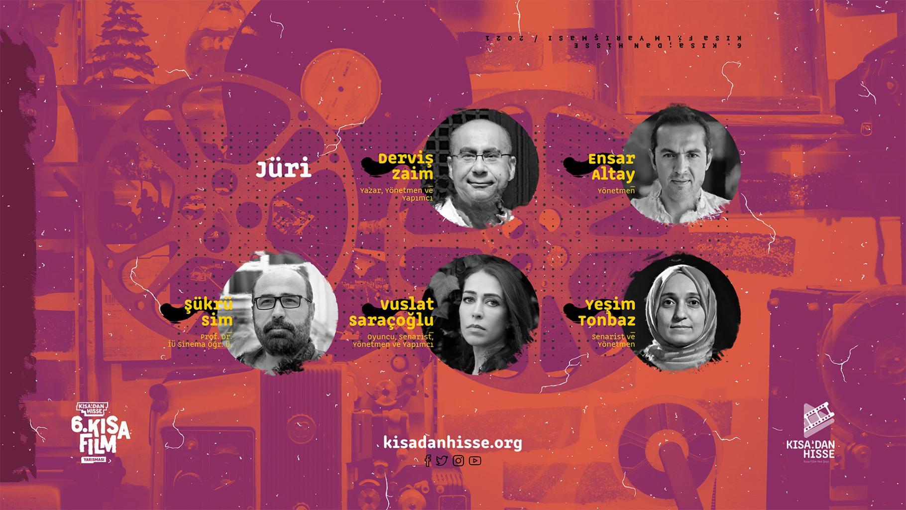 6.Kısadan Hisse Kısa Film Yarışması Jürisi